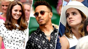 Catarina de Cambridge, Lewis Hamilton y Emma Watson, entre las...