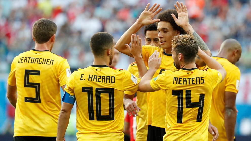 7400e037edbdb El juego vertical y el contragolpe dispararon a Bélgica al mejor puesto de  su historia en los Mundiales. Un tanto de Meunier al principio y otro de  Hazard ...