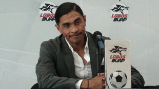 Francisco Palencia, en conferencia de prensa