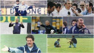 Entrenadores del Real Madrid.