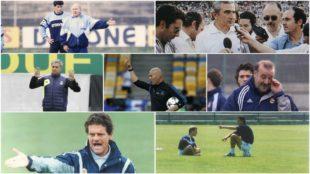 Entrenadores del Real Madrid.