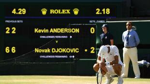 Djokovic, flexionado a la conclusión
