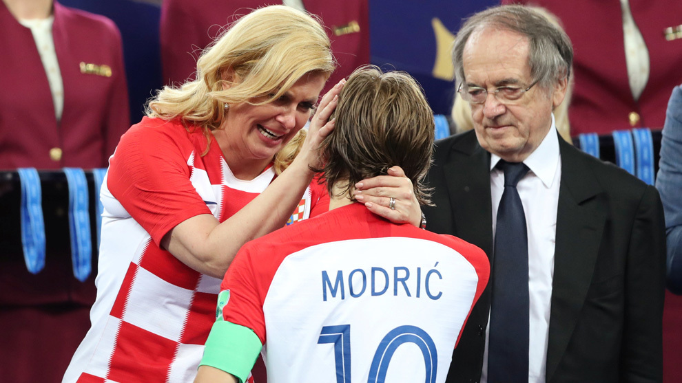 Kolinda Grabar y su apoyo incondicional a Croacia.