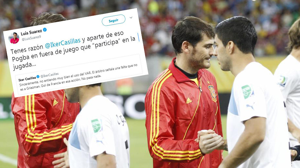 Casillas and Suarez.