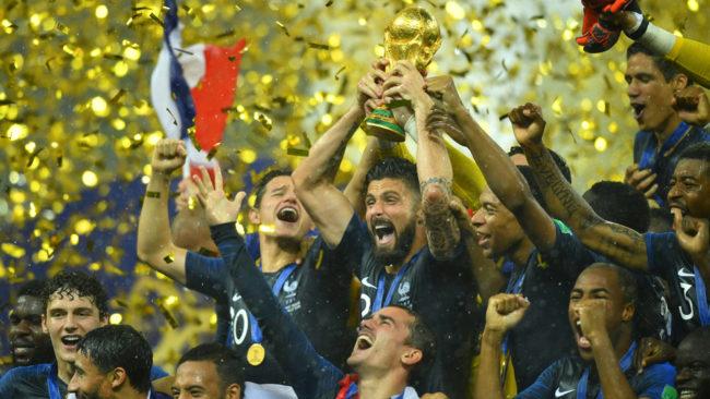 ¡Francia domina el mundo!