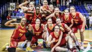 La selección española celebró el pase a la final por todo lo alto...