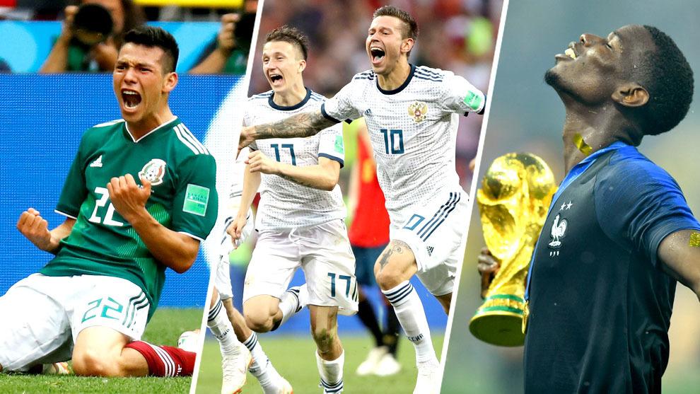 El triunfo del Tri ante Alemania, la sorpresiva Rusia y el título...