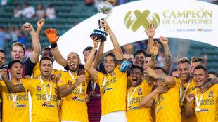 Tigres, sumó su tercer título de Campeón de Campeones al hilo