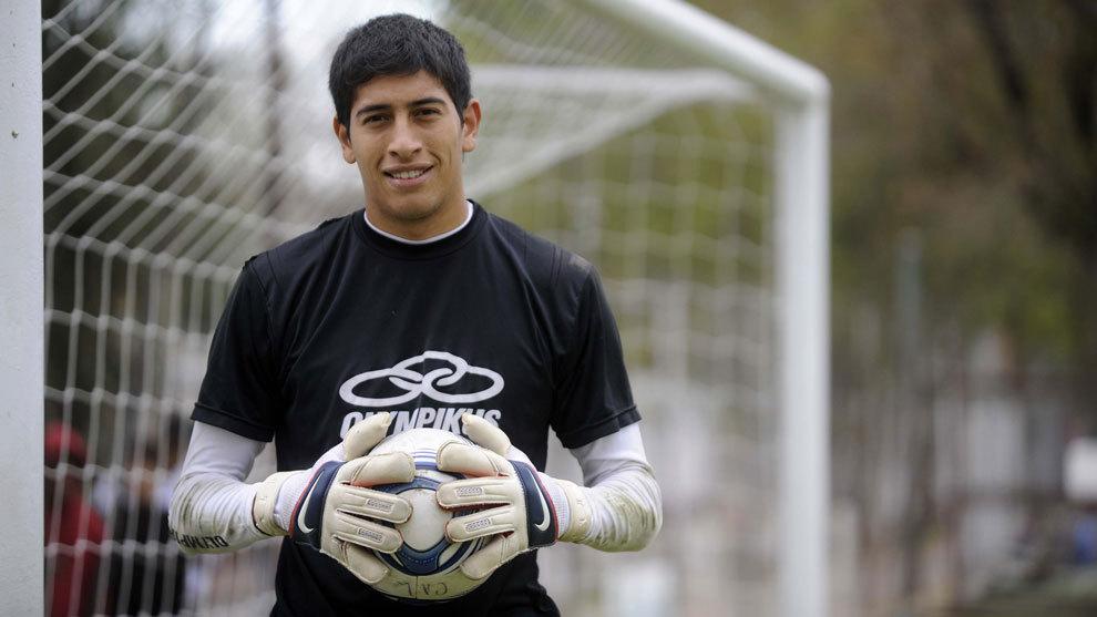 Esteban Andrada posa para MARCA en 2011.