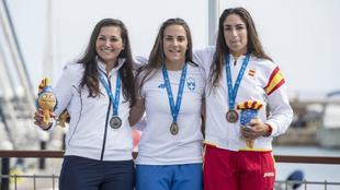 Martina Reino, bronce en la clase Láser de los XVIII Juegos...