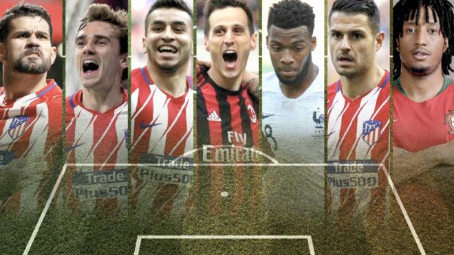 Atletico Madrid's 'super attack'