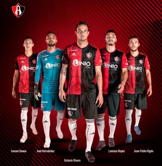 46f4eb18ba36 Liga MX: Atlas presenta su nueva camiseta para el Apertura 2018 ...