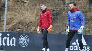 Sergio y Rubén Blanco, una competencia sana por el puesto de titular,