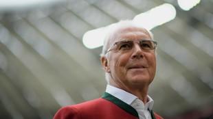Beckenbauer, una de las pocas personas en ganar el Mundial como...