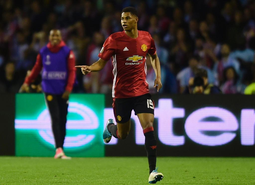 19. Marcus Rashford (Manchester United): From 10m to 65m euros (a 550 percent rise)