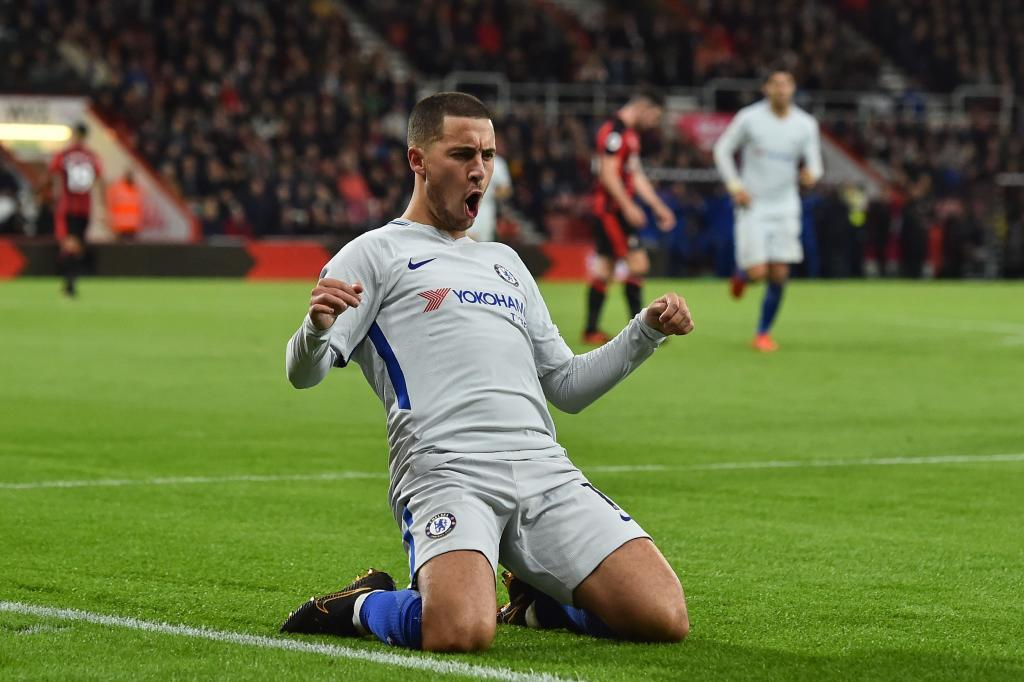 Eden Hazard (Chelsea): From 65m to 120m euros (an 84 percent increase)