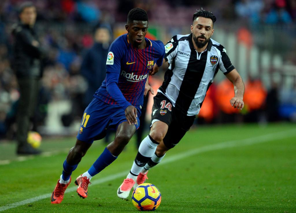 11. Ousmanne Dembele (Barcelona): From 18m to 80m euros (an increase of 344 percent)