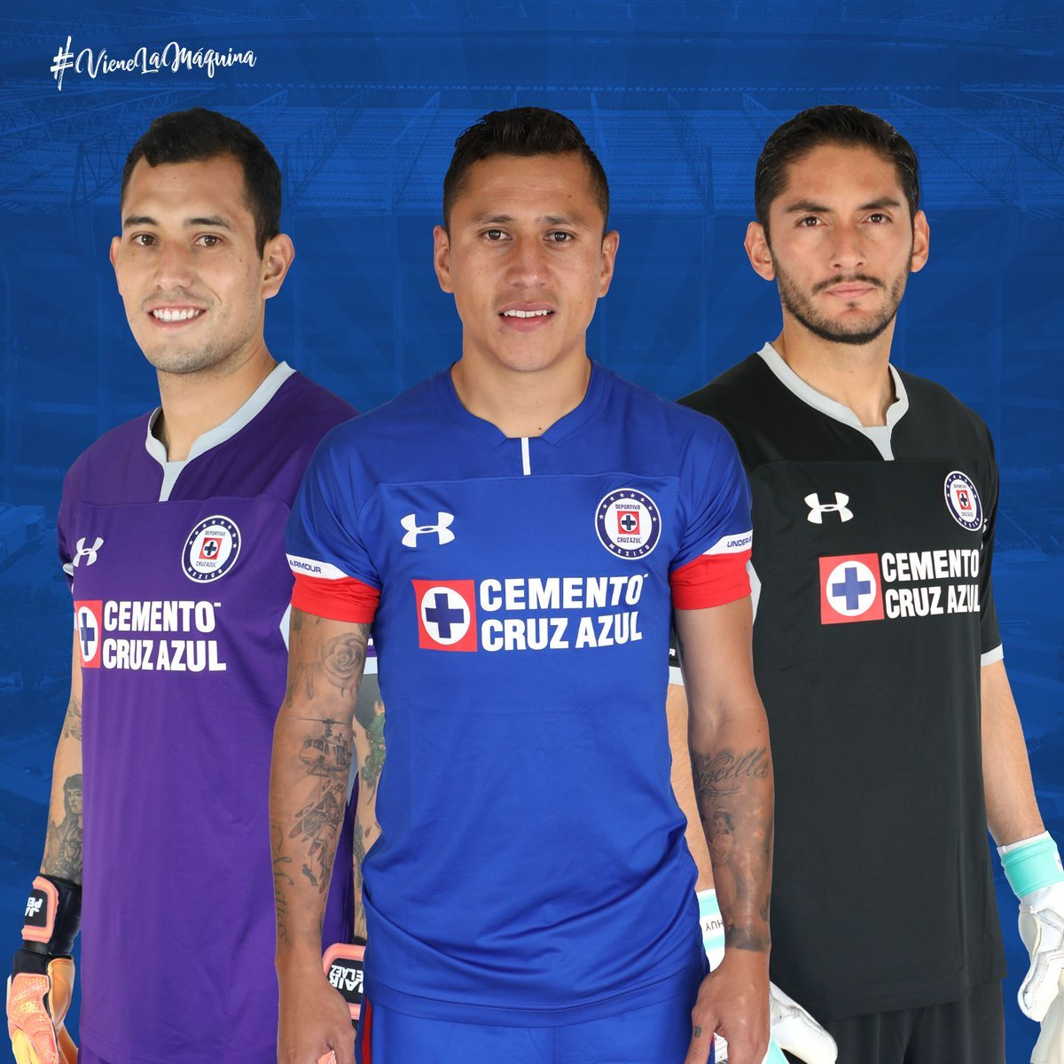 Liga MX  Cruz Azul presenta sus uniformes para el Apertura 2018 ... da26eb366e42a