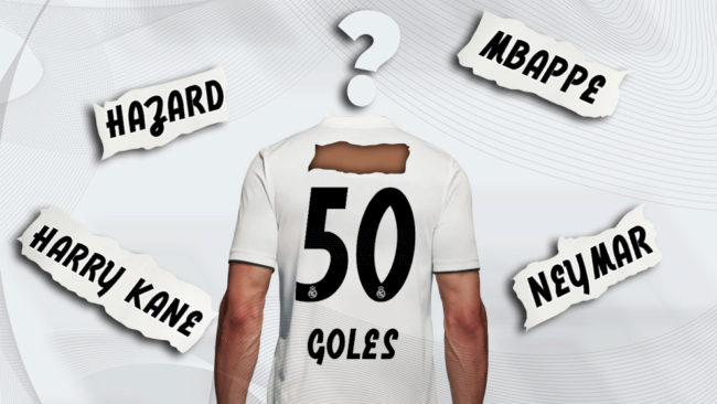 Where will Real Madrid now get 50 goals per season?