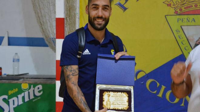 Alberto Perea ganador del III Trofeo Mojama al mejor gol de la...