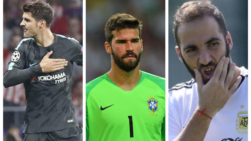 Pensar en el futuro Dormido Comercio  Mercado de fichajes 2018: Mercado de fichajes: Alisson a un paso del  Liverpool, Higuaín llevaría a Morata al Milan | Marca.com