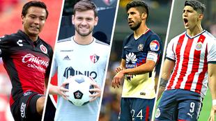 Torres, Díaz, Peralta y Pulido, de los pocos delanteros mexicanos en...