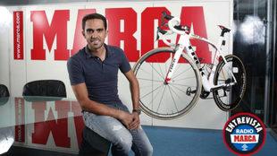 Contador en una entrevista para MARCA.