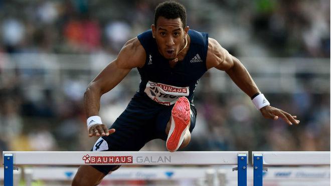Orlando Ortega, en competición