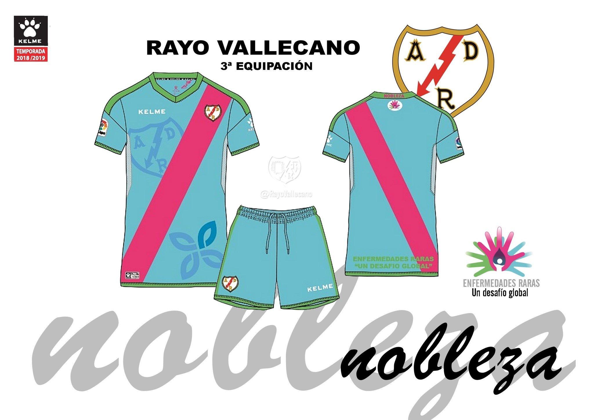 Rayo Vallecano: Las peñas del Rayo rechazan la tercera camis