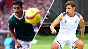 Los dos jugadores lucharán por la titularidad de Chivas.