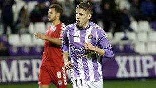 El Valladolid quiere volver a contar con Pablo Hervías.