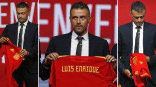 Luis Enrique, en su presentación como seleccionador