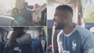 Umtiti entertained France teammates