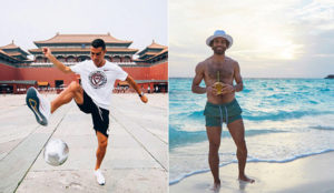 Cristiano Ronaldo, Salah and other footballers' holiday snaps