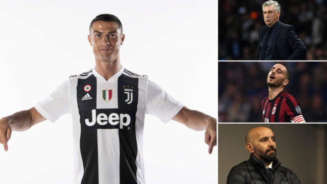 This is the state of italian football as cristiano ronaldo joins serie aspending of 830m euros as well as huge debt stopboris Gallery