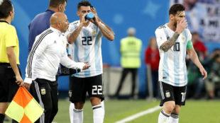 """""""Ya no confiamos en vos"""", la tensa reunión de Messi con Sampaoli"""