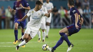 Marco Asensio during the International Champions Cup 2017 match...