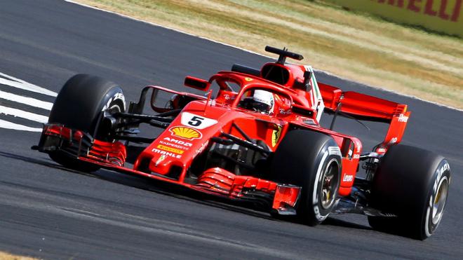 Vettel defenderá su liderato en el Gran Premio de Alemania de F1 2018...