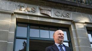 Fassone, CEO del Milan, a las puertas del TAS.