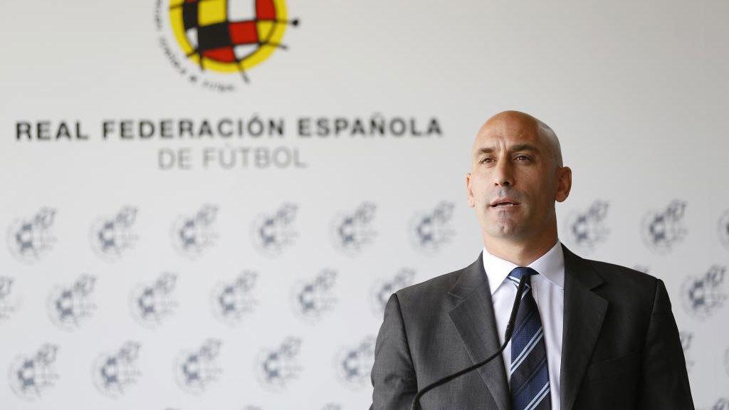 Spanish FA (RFEF) president, Luis Rubiales.