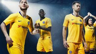 Promo de la nueva camiseta del Chelsea.