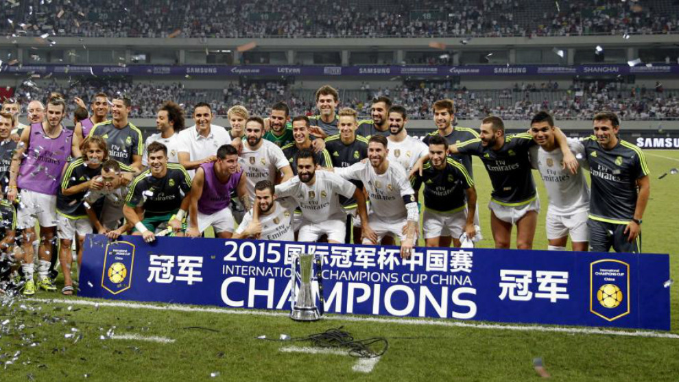 El Real Madrid, en la International Champions Cup de 2015