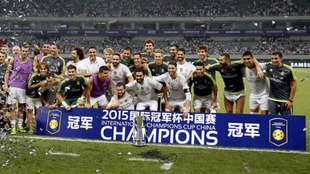 El Real Madrid, en la International Champions Cup de 2015