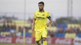 Jaume Costa, en el partido ante el Hércules.