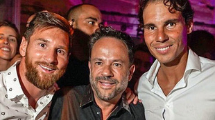 Messi meets Nadal in Ibiza