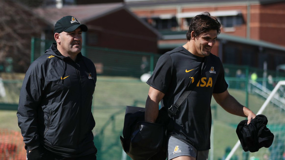 Entrenador y capitán: Mario Ledesma y Pabo Matera
