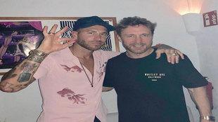 Sergio Ramos pincha con David Guetta