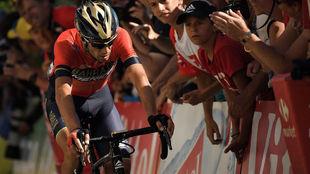 La última pedalada de Vincenzo Nibali en el Tour 2018.