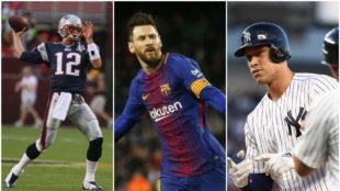 Dallas Cowboys, Barcelona and New York Yankees