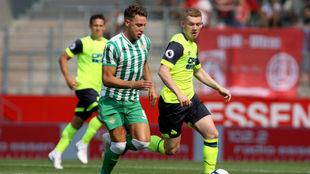 Betis y Huddersfield disputaron el primer partido de la Essen Cup.